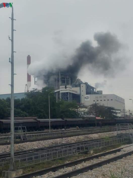 Tiếng nổ lớn tại Nhà máy Nhiệt điện Uông Bí Ảnh 1