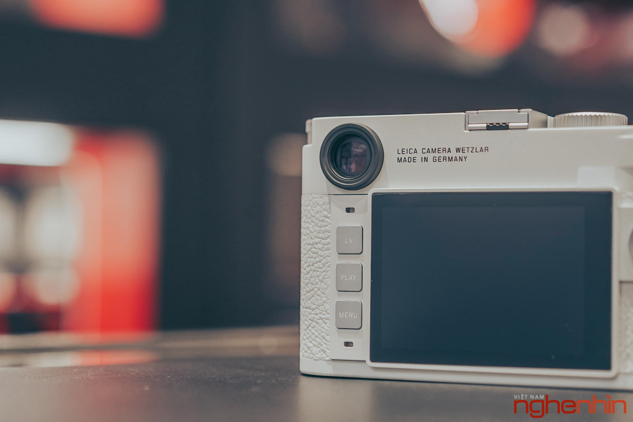 Trên tay Leica M10-P 'White' Edition tại Việt Nam: giá 420 triệu, giới hạn 350 chiếc Ảnh 6