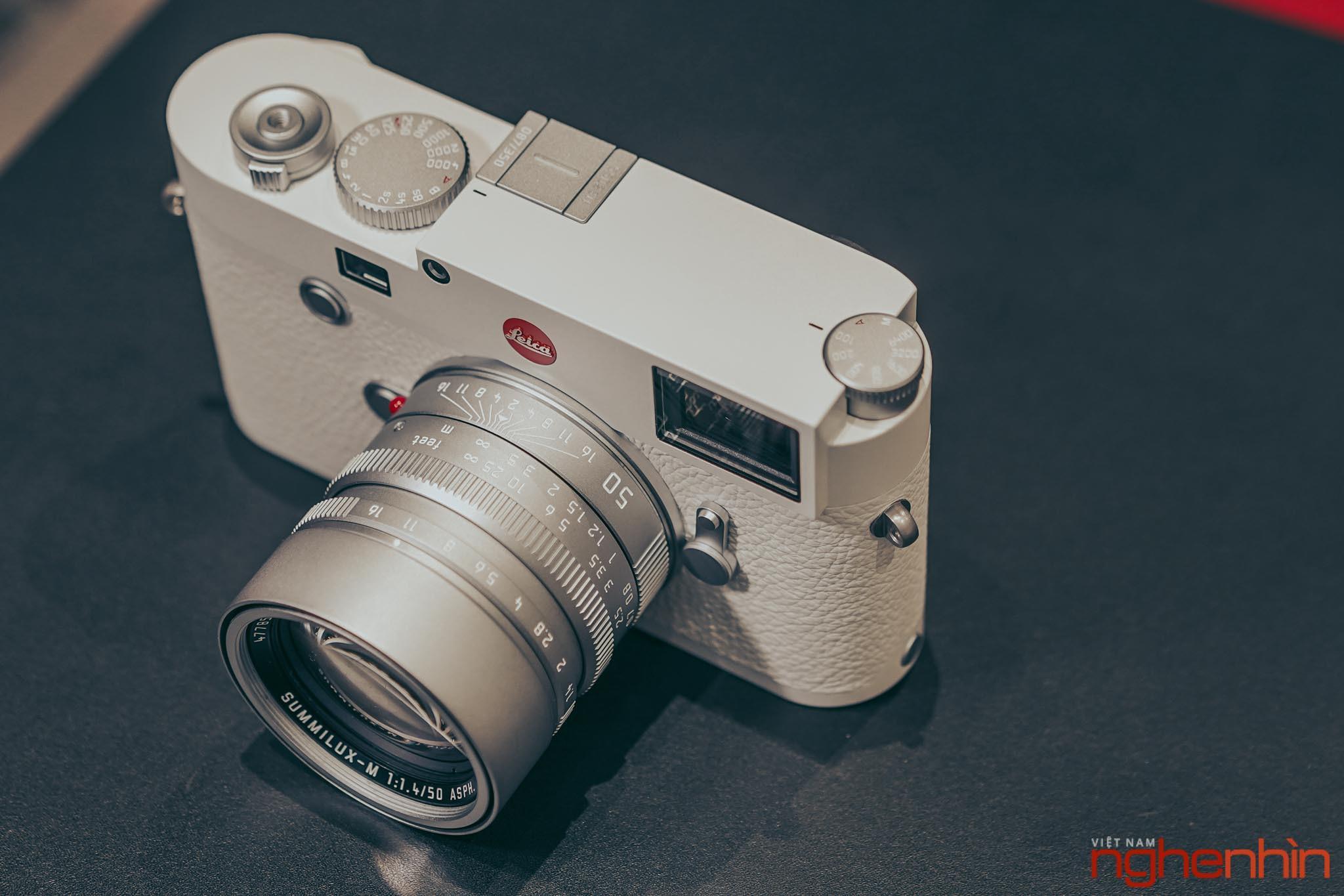 Trên tay Leica M10-P 'White' Edition tại Việt Nam: giá 420 triệu, giới hạn 350 chiếc Ảnh 13
