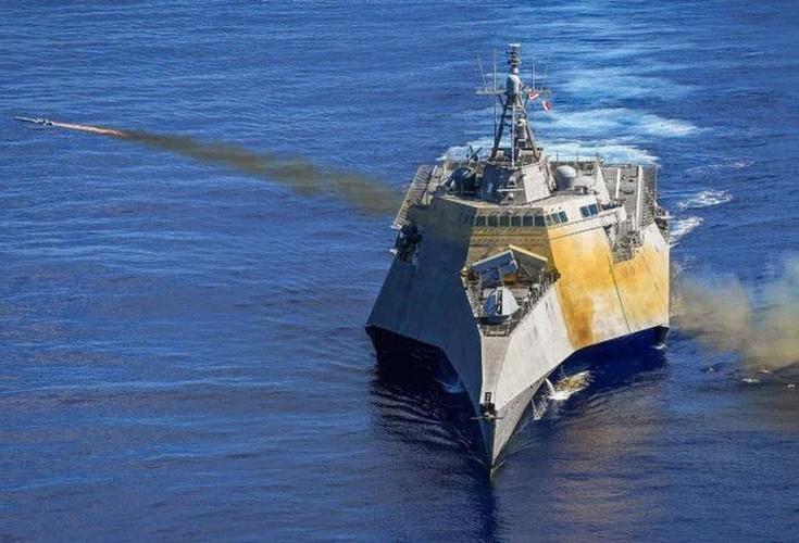 Hải quân Mỹ đánh trúng mục tiêu từ khoảng cách 200km bằng tên lửa tàng hình Ảnh 19