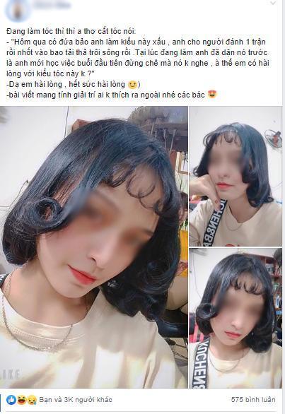 Đi làm tóc để diện Tết, nhìn thành quả cô gái còn buồn hơn cả thất tình Ảnh 2