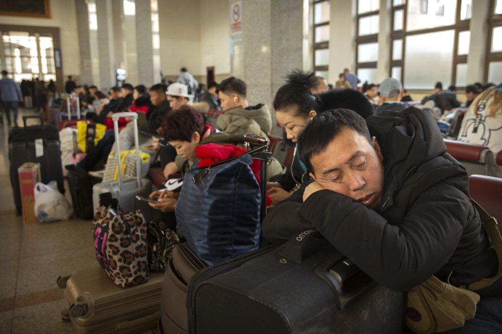 Cao điểm 'xuân vận' Tết Canh Tý bắt đầu tại Trung Quốc Ảnh 1