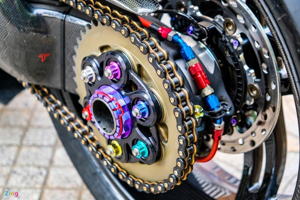 Ducati Panigale V4 với gói độ xe đua tiền tỷ tại TP.HCM Ảnh 15