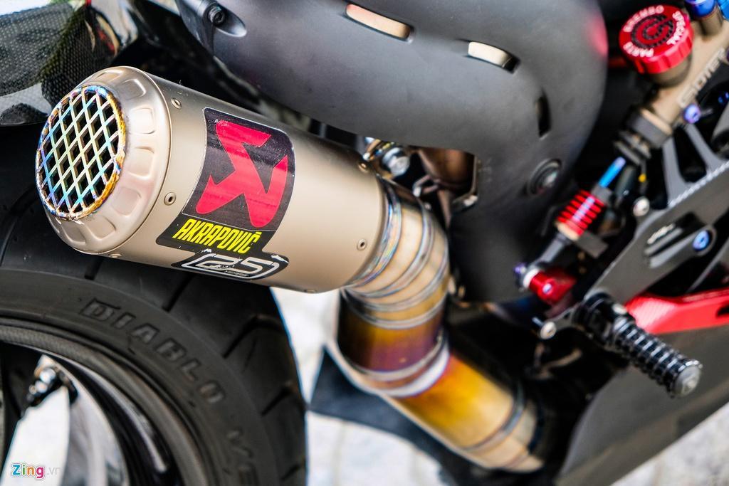 Ducati Panigale V4 với gói độ xe đua tiền tỷ tại TP.HCM Ảnh 19