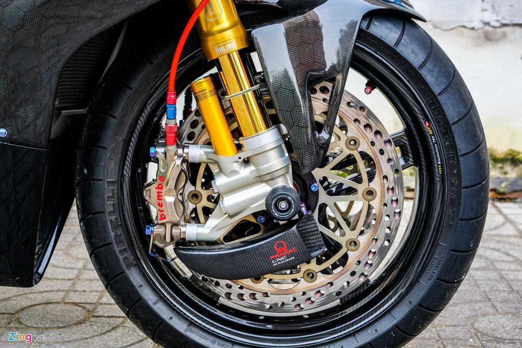 Ducati Panigale V4 với gói độ xe đua tiền tỷ tại TP.HCM Ảnh 14