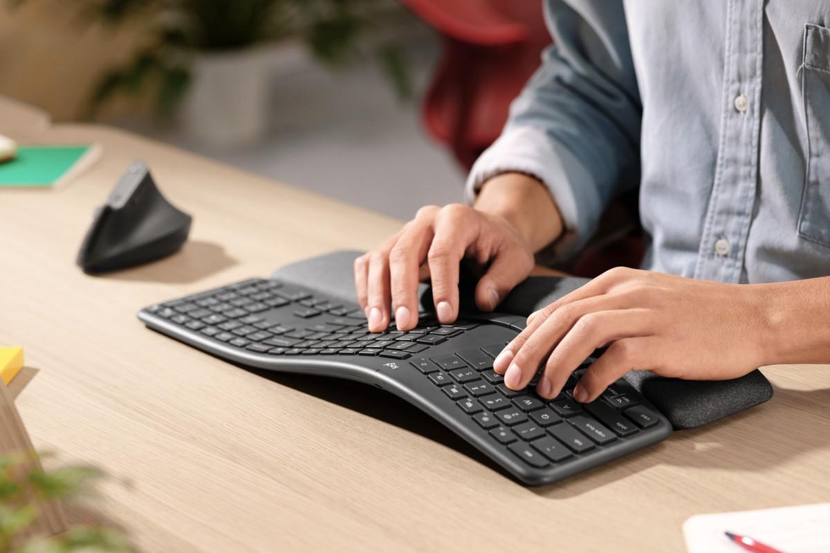 Logitech ra mắt bàn phím ERGO K860 đảm bảo gõ sướng nhất Ảnh 1