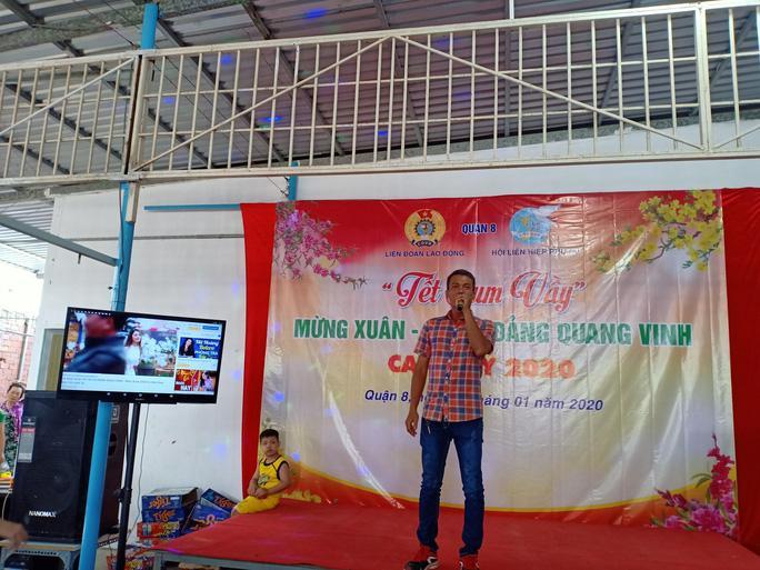 Tổ chức tiệc tất niên cho công nhân ở trọ Ảnh 3