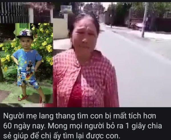 Điều kỳ diệu cuối năm, bà mẹ bán vé số đã tìm được con trai sau hơn 1 năm đi lạc Ảnh 1