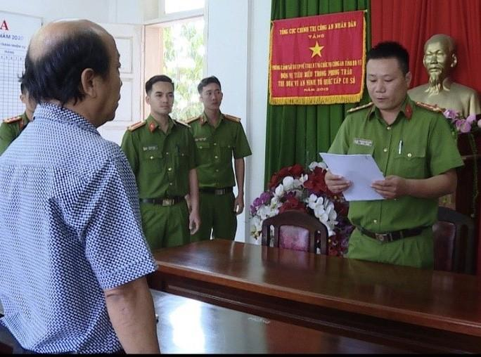 Bắt nguyên Tổng giám đốc Công ty CP Du lịch tỉnh Bà Rịa - Vũng Tàu Ảnh 1