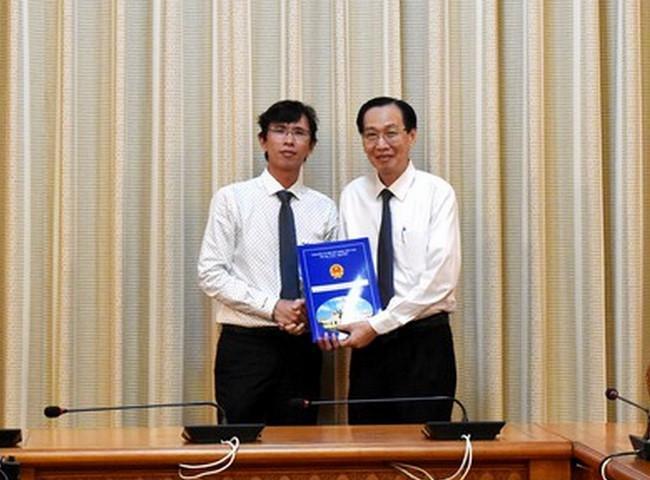 PGS.TS Nguyễn Anh Thi được bổ nghiệm làm Trưởng ban Ban Quản lý Khu Công nghệ cao TP.HCM Ảnh 1
