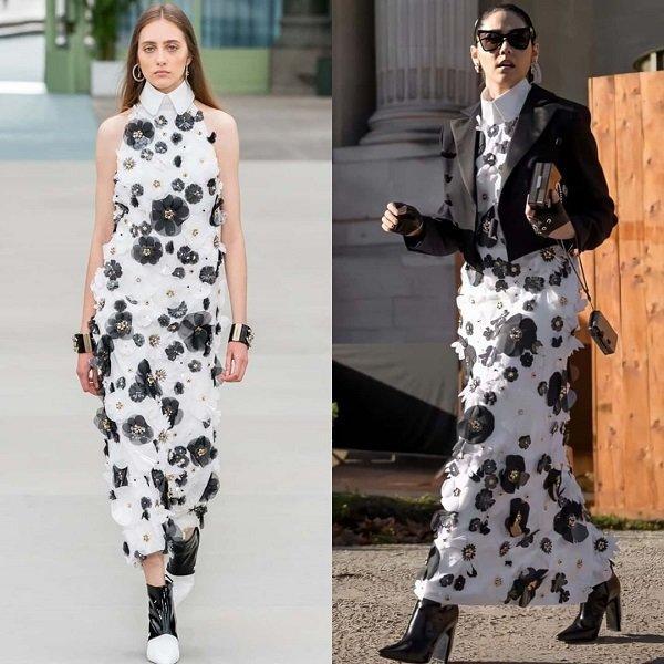 'Phạm Băng Băng' xứ Thái mô phỏng gu thời trang của Karl Lagerfeld tại Paris Fashion Week Ảnh 6