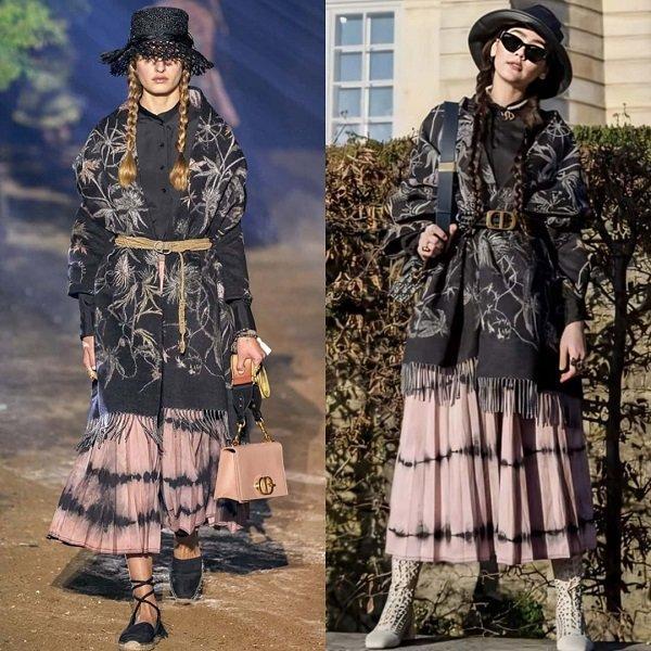 'Phạm Băng Băng' xứ Thái mô phỏng gu thời trang của Karl Lagerfeld tại Paris Fashion Week Ảnh 10