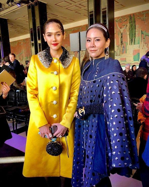 'Phạm Băng Băng' xứ Thái mô phỏng gu thời trang của Karl Lagerfeld tại Paris Fashion Week Ảnh 7
