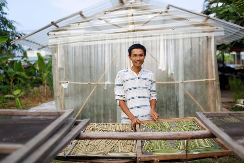 Ống hút làm từ cỏ của chàng trai Việt được báo Anh khen ngợi Ảnh 2