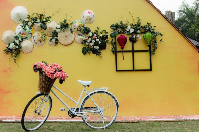 Ngỡ ngàng vẻ đẹp của thung lũng đầy sắc hoa xuân tại khu đô thị ở Hà Nội Ảnh 10