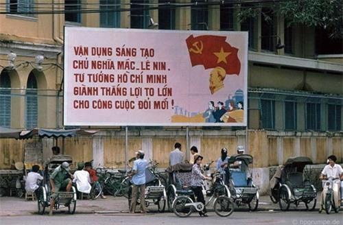 Kho ảnh khổng lồ về Việt Nam 1991-1993: Giao thông Sài Gòn Ảnh 4