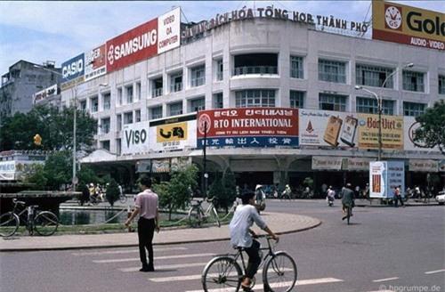 Kho ảnh khổng lồ về Việt Nam 1991-1993: Giao thông Sài Gòn Ảnh 11