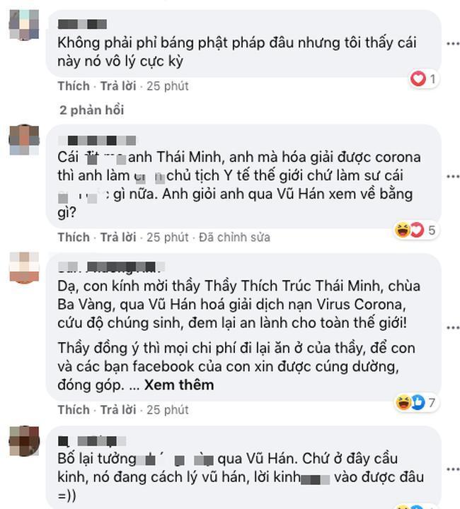 Bất ngờ xuất hiện thông báo chương trình tu tập hồi hướng hóa giải dịch cúm virus Corona của sư thầy Thích Trúc Thái Minh Ảnh 5