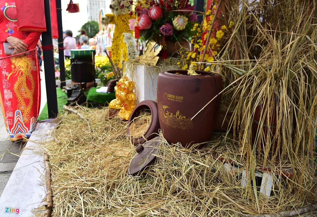 Chưa hết Tết, hàng trăm chậu hoa bị đạp nát ở đường hoa Nguyễn Huệ Ảnh 16