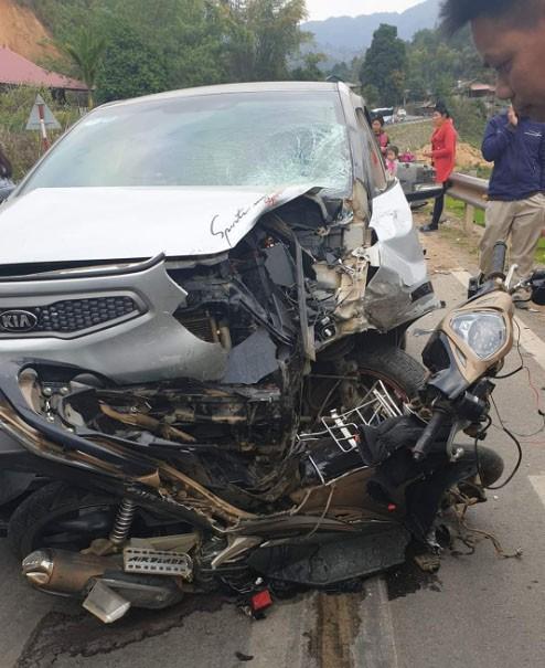 Điện Biên: Tai nạn giao thông khiến 1 người đứt lìa chân Ảnh 1