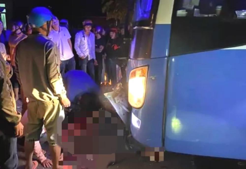 Xe máy tông trực diện xe khách ở Gia Lai, 3 người tử vong Ảnh 1