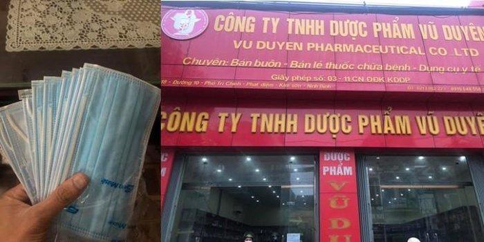 'Chặt chém' hộp khẩu trang 600 nghìn đồng giữa đợt dịch virus Corona, chủ công ty dược phẩm ở Ninh Bình bị phạt 15 triệu đồng, buộc trả lại tiền cho khách Ảnh 1