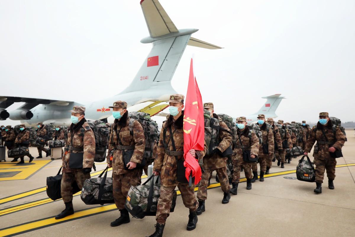Cách ly tất cả người nghi nhiễm coronavirus ở Vũ Hán, Không quân TQ điều máy bay Ảnh 3