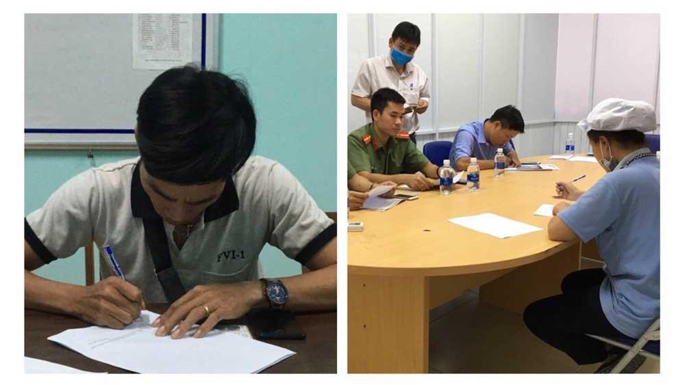 Công an mời 2 công nhân làm việc vì tung tin sai về virus corona Ảnh 2
