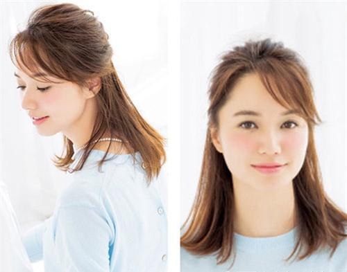 Cách tạo mẫu tóc phù hợp với khuôn mặt để bạn gái xinh xắn, tự tin 'bung lụa' ngày Valentine Ảnh 3