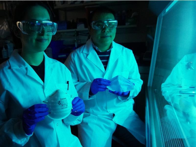 Kỹ sư Canada sáng tạo khẩu trang phủ muối có thể vô hiệu hóa virus như corona trong 5 phút Ảnh 1