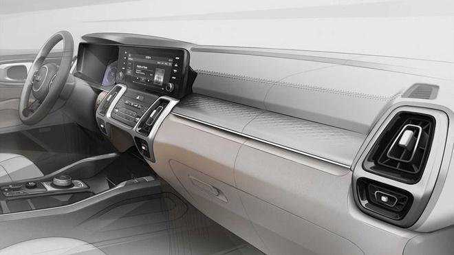 Lộ diện nội thất và động cơ Kia Sorento 2021 Ảnh 1