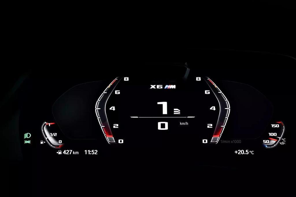 Đánh giá BMW X6 M 2020 – SUV hiệu suất cao đúng chất Ảnh 36