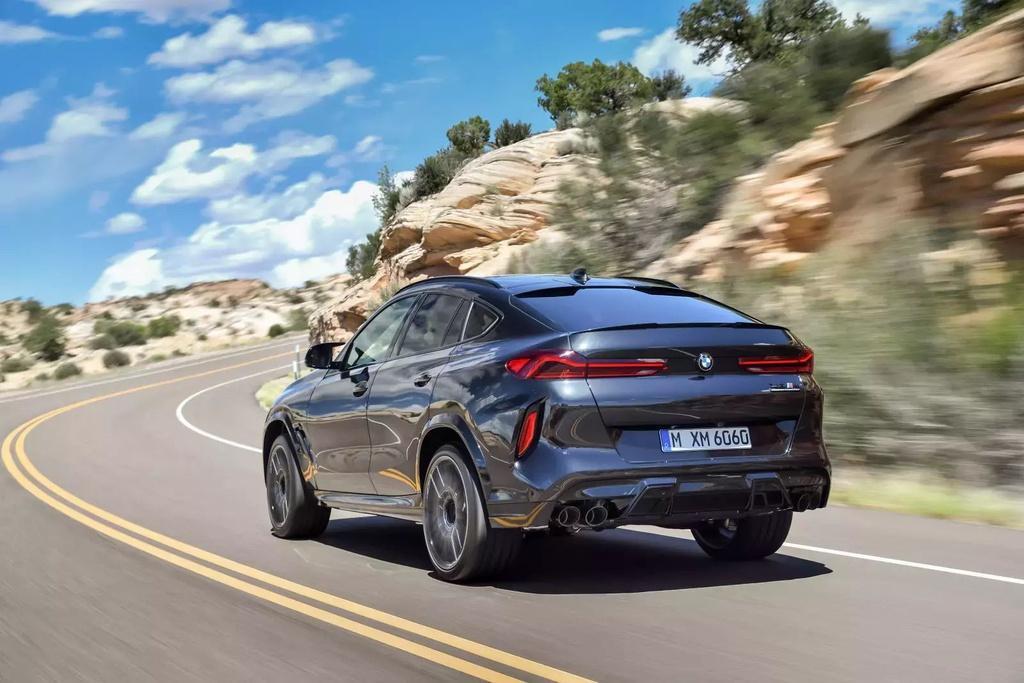 Đánh giá BMW X6 M 2020 – SUV hiệu suất cao đúng chất Ảnh 4