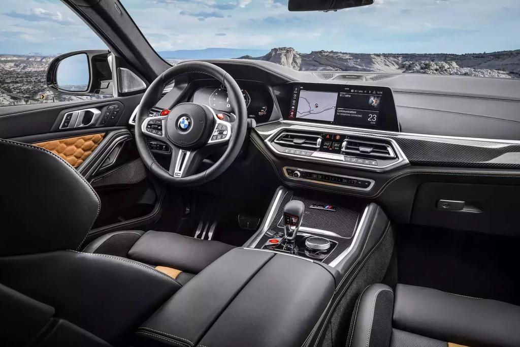 Đánh giá BMW X6 M 2020 – SUV hiệu suất cao đúng chất Ảnh 5