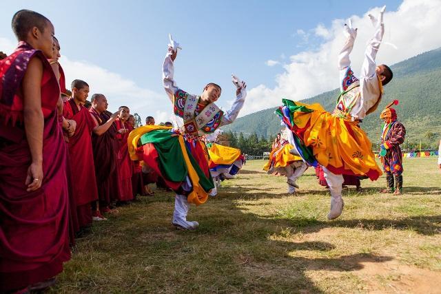 Bhutan: Đón năm mới ở tu viện Paro Taktsang Ảnh 3