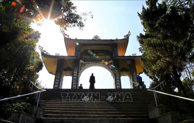 Lắng lòng chốn Thiền viện Trúc Lâm Bạch Mã Ảnh 1