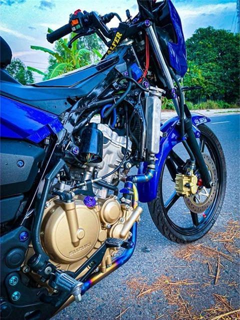 Suzuki Satria 150 độ 'cực ngầu', khiến Yamaha Exciter ganh tị Ảnh 3
