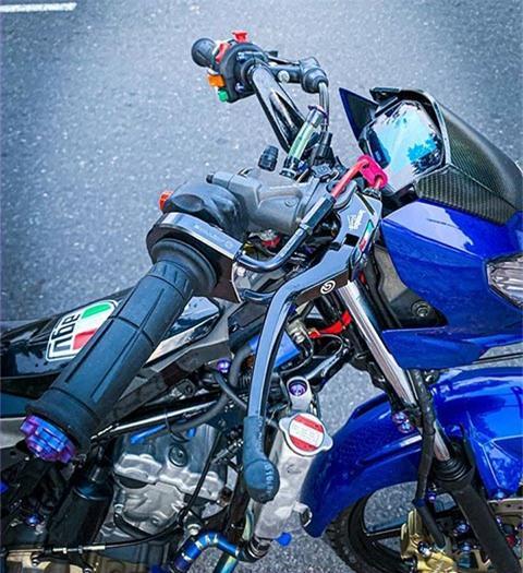 Suzuki Satria 150 độ 'cực ngầu', khiến Yamaha Exciter ganh tị Ảnh 2