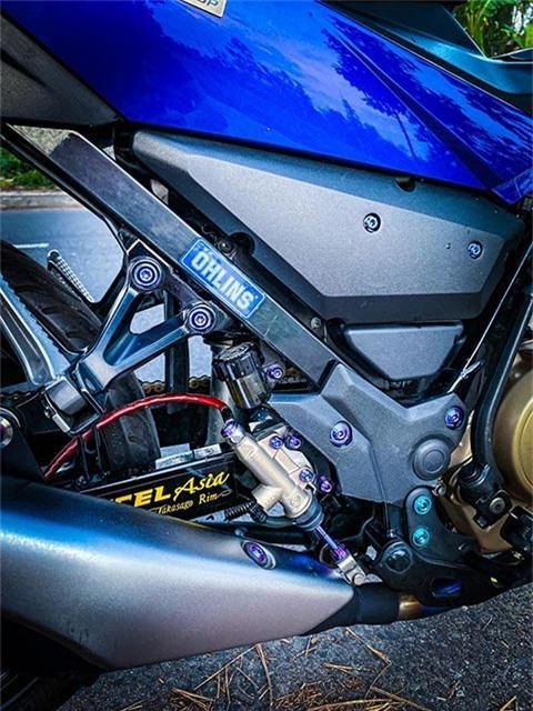 Suzuki Satria 150 độ 'cực ngầu', khiến Yamaha Exciter ganh tị Ảnh 5