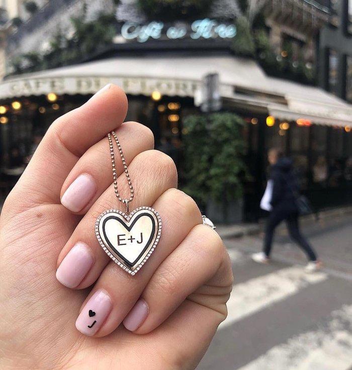 12 ý tưởng làm nail nghệ thuật cực độc cho ngày Valentine Ảnh 10