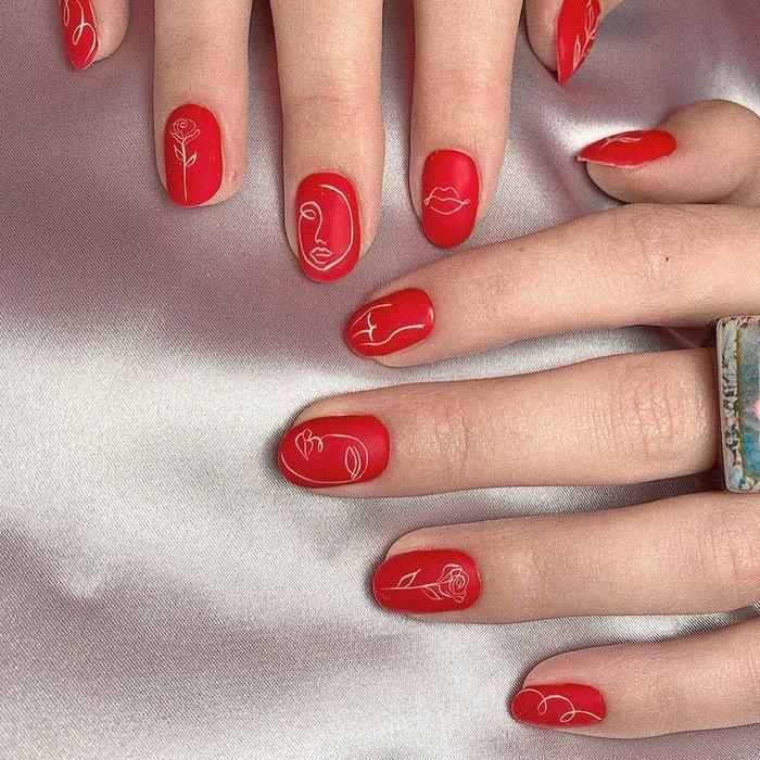 12 ý tưởng làm nail nghệ thuật cực độc cho ngày Valentine Ảnh 4