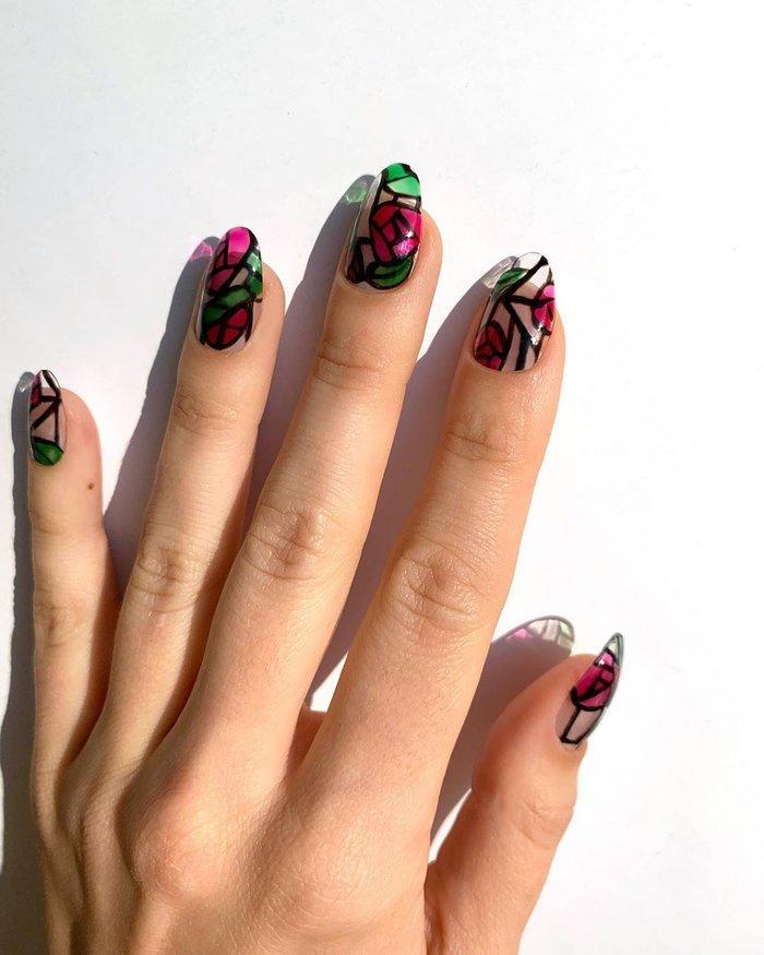12 ý tưởng làm nail nghệ thuật cực độc cho ngày Valentine Ảnh 1