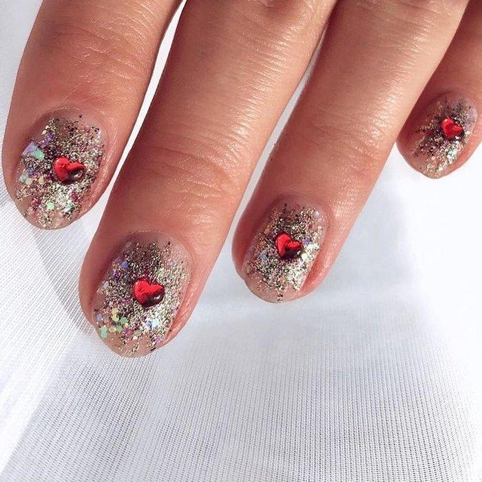 12 ý tưởng làm nail nghệ thuật cực độc cho ngày Valentine Ảnh 5
