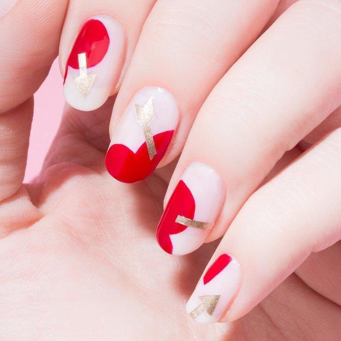 12 ý tưởng làm nail nghệ thuật cực độc cho ngày Valentine Ảnh 6