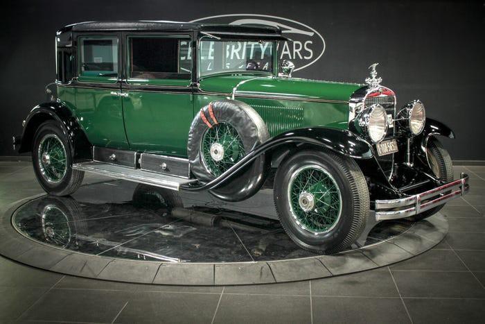 Xe Cadillac mui trần chống đạn của ông trùm Al Capone được đấu giá 1 triệu USD Ảnh 8