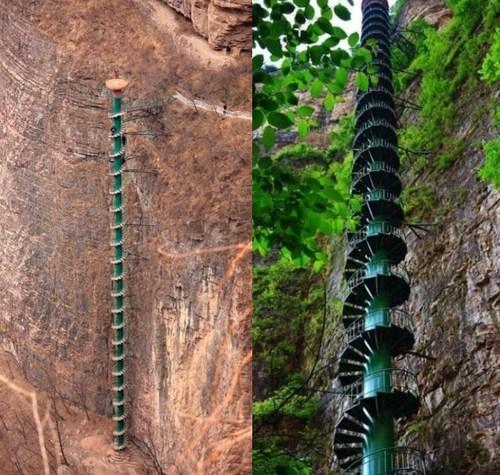 'Cầu thang lên thiên đường' nguy hiểm nhất thế giới Ảnh 6