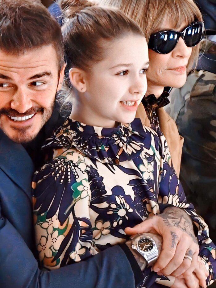 Tiểu công chúa nhà Beckham 'gây sốt' ở Tuần lễ thời trang London Ảnh 7