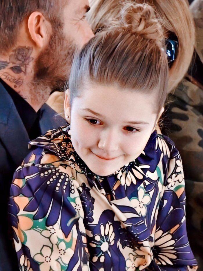 Tiểu công chúa nhà Beckham 'gây sốt' ở Tuần lễ thời trang London Ảnh 5