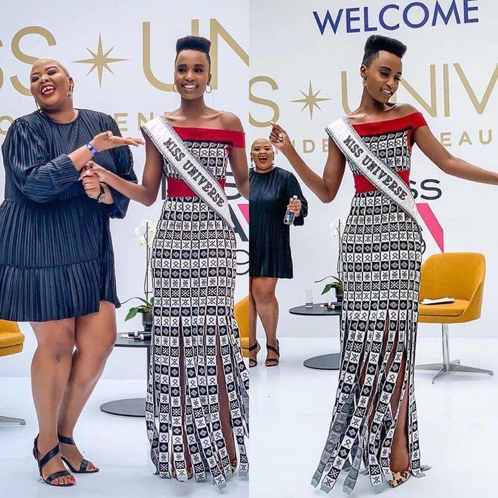 Mặc bikini trắng, Miss Universe 2019 như ngọc đen đẹp sững sờ, fan choáng váng với body Ảnh 5