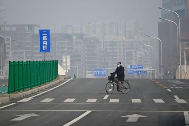 Dịch COVID-19: Lượng khí thải CO2 của Trung Quốc giảm Ảnh 1